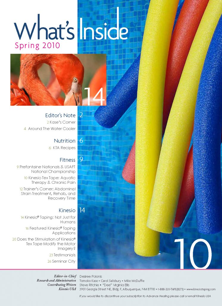 Kinesio-Tape-10-AH-Spring Table of Contents