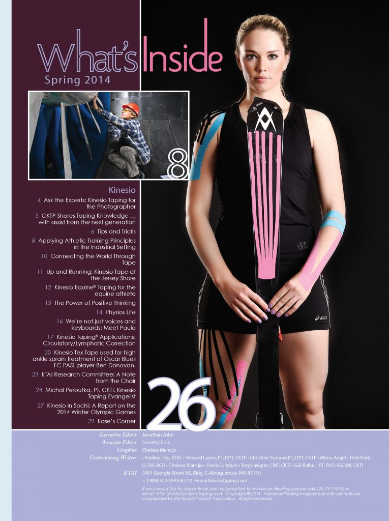 Kinesio-Tape-14-AH-Spring Table of Contents