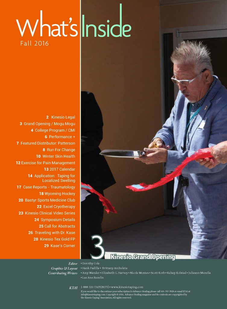 Kinesio-Tape-16-AH-Fall Table of Contents